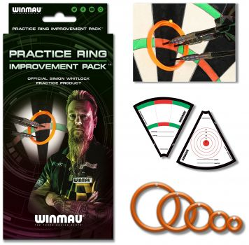 Winmau Simon Whitlock Practice Rings-Trainingsringe 8415