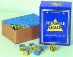 Kreide Triangle Großbox blau (144 Stück)