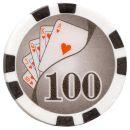Poker Chips - Royal Flush - 500er