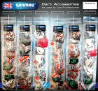 Fly-Sortiment Display Winmau - 60 flight cards