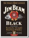 Blechschild Jim Beam -Black Label-
