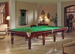 Snookertisch ROBERTSON Tournament, Ahorn Massivholz, mahagonifarben 12ft